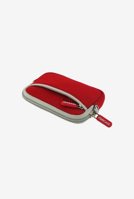 rooCASE Carrying Case for Olympus Stylus Tough TG-310 (Red)