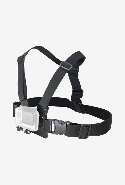 Bower Xtreme Action Series Gopro Chest Body Strap (Black)