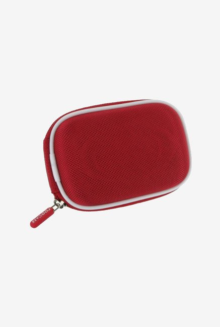 Roocase Nylon Hard Shell Case for Nikon Coolpix S8100 (Red)