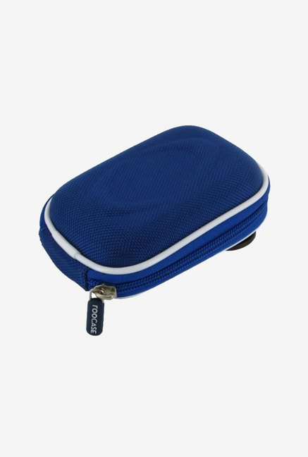 Roocase Nylon Hard Shell Case for Olympus VG-160 (Blue)