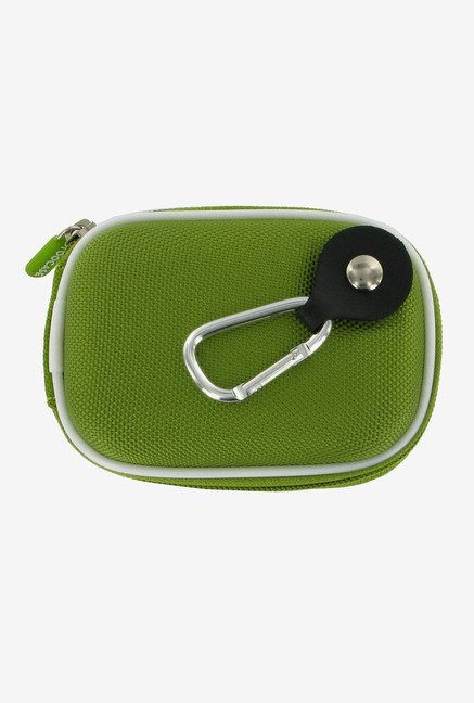 Roocase Nylon Hard Shell Case for Canon SD970 IS (Green)