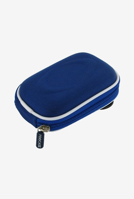 Roocase Nylon Hard Shell Case for Olympus FE360 (Blue)