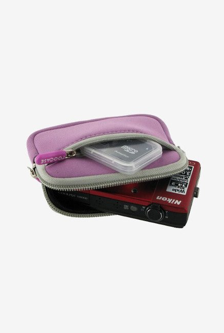Roocase Neoprene Sleeve Case for Panasonic DMC-ZS10 (Lilac)