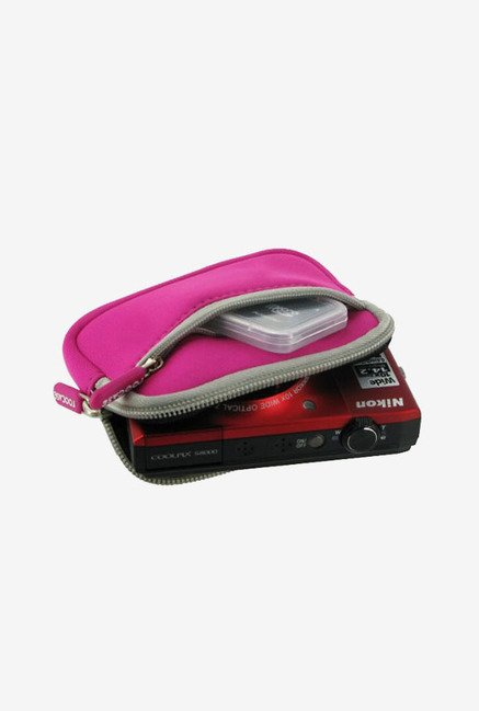 Roocase Neoprene Sleeve Case for Panasonic DMC-ZS8 (Magenta)