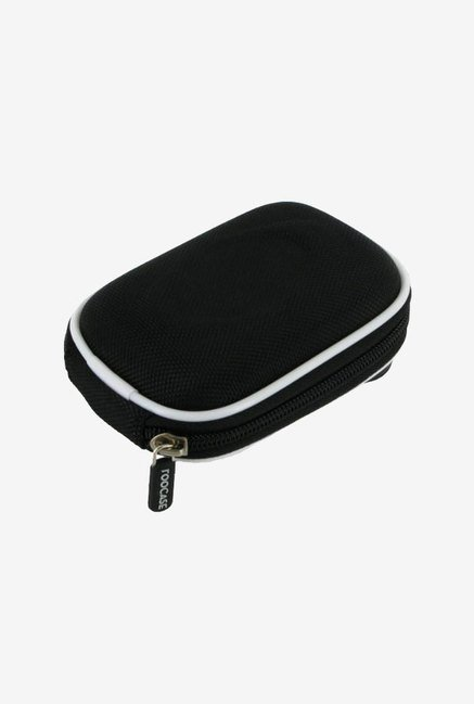 Roocase Nylon Hard Shell Case for Pentax Optio I-10 (Black)