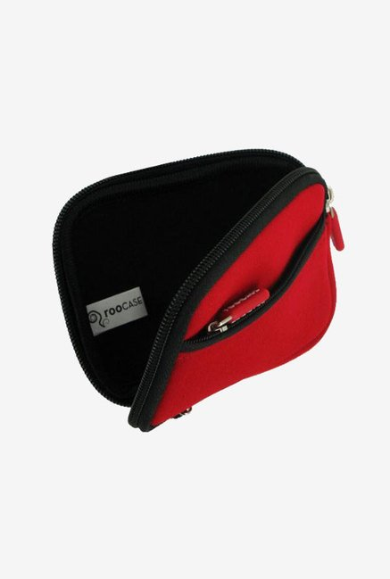 Roocase SLV2 Neoprene Sleeve for Canon SX230 HS (Red)