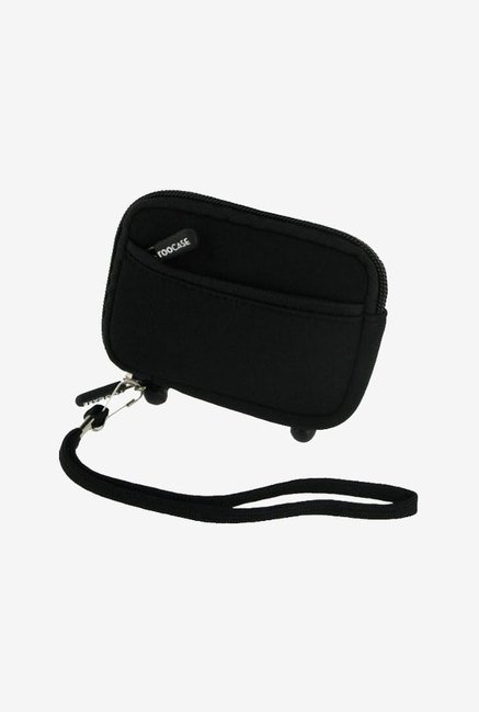 Roocase Neoprene Sleeve Case for Canon SD1400IS (Black)