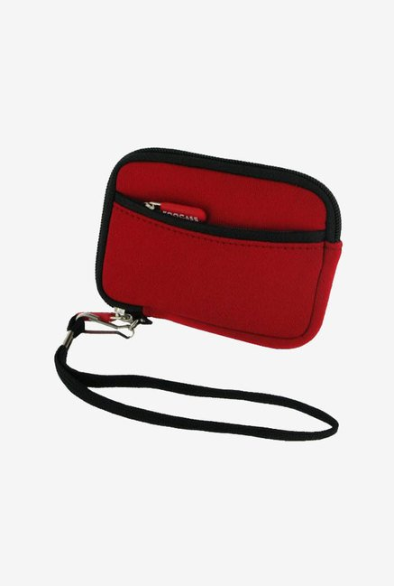 Roocase Neoprene Sleeve Case for Canon SD1400IS (Red)