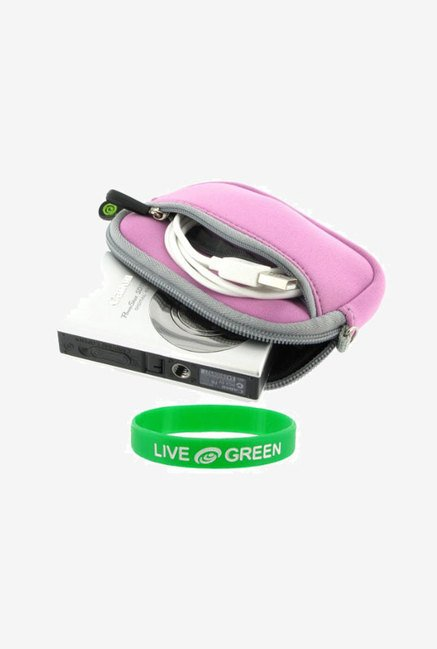 Roocase Neoprene Sleeve Case for Olympus FE-4010 (Lilac)