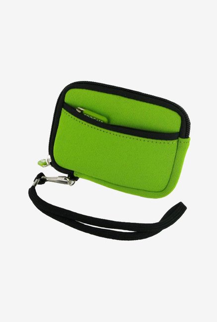 Roocase SLV2 Neoprene Sleeve for Panasonic DMC-ZS10 (Green)
