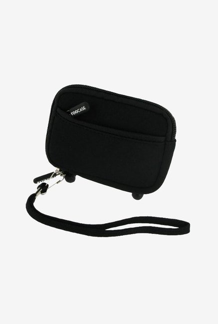 Roocase Neoprene Sleeve Case for Pentax Optio W90 (Black)