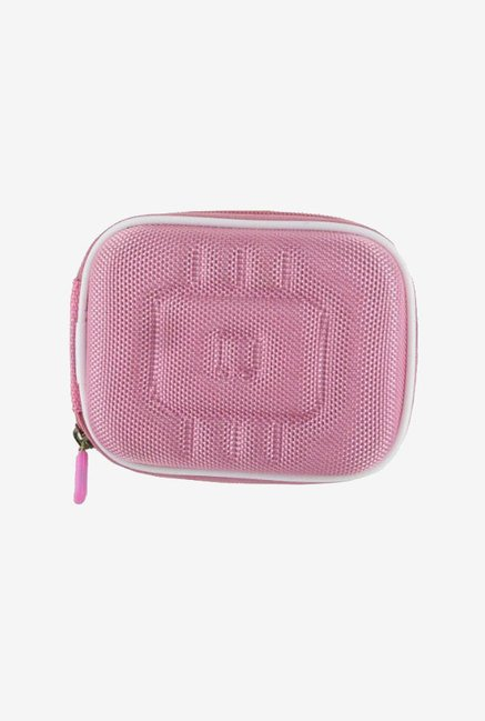 Roocase Hard Shell Case for Point & Shoot Camera (Pink)