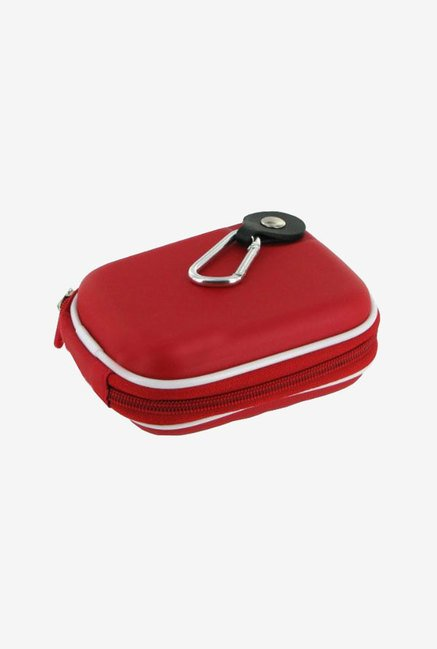 Roocase Hard Shell Case for Point & Shoot Camera (Red)
