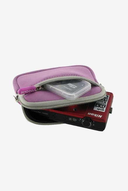 rooCASE Camera Sleeve for Nikon Coolpix S3300 (Pink)