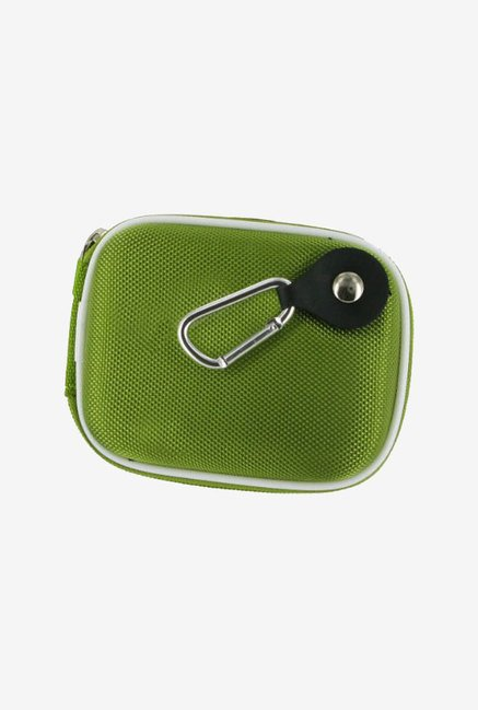 rooCASE Carrying Case for Nikon Coolpix S4100 (Green)