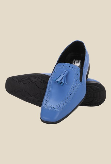 Yepme Blue Casual Moccasins