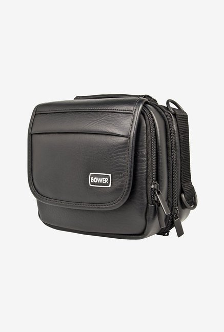 Bower CDV7 Leather Digital Camera Case (Black)