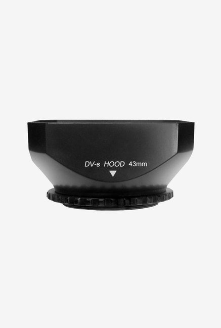 Cowboy Studio 43mm DV-s Screw Mount Lens Hood with Cap