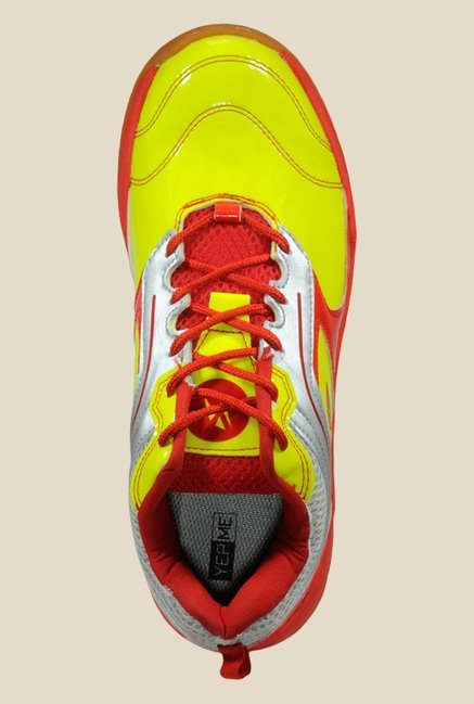 Yepme Red & Yellow Tennis Shoes