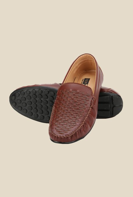 Yepme Brown Casual Loafers