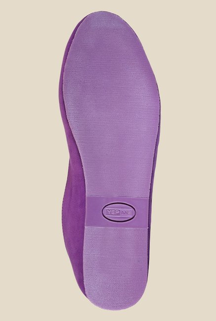 Yepme Purple Flat Ballets