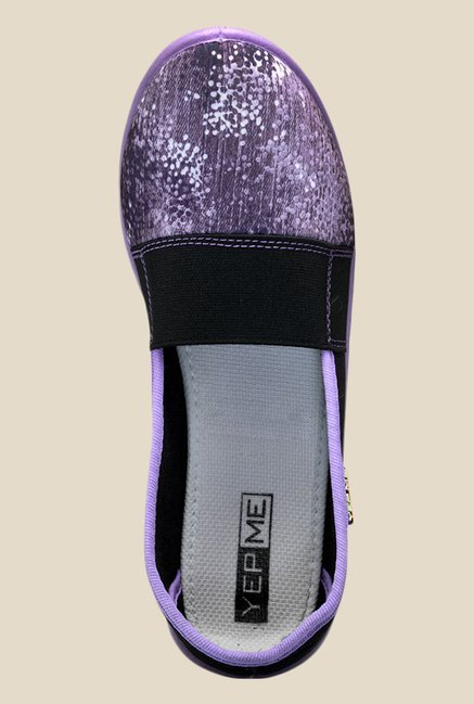 Yepme Purple & Black Shoes