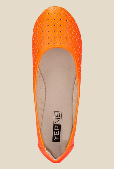 Yepme Orange Flat Ballets