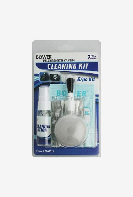 Bower SAD14 6-in-1 Digital Camera Cleaning Kit (White)