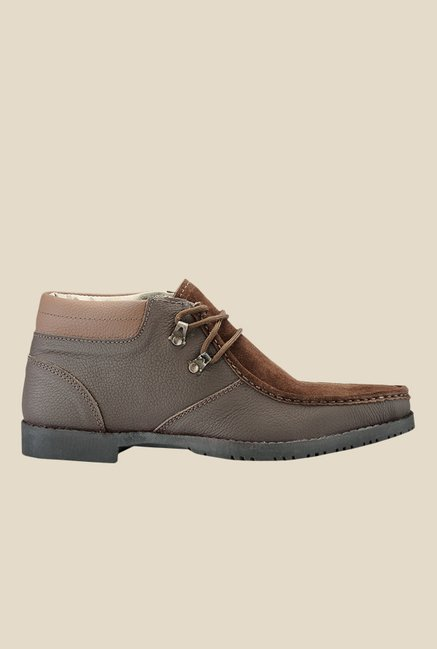 Yepme Brown Casual Boots