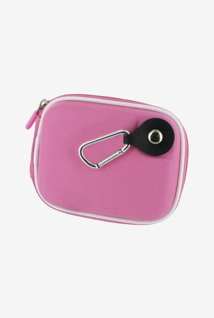 rooCASE Carrying Case for Canon PowerShot SX220 HS (Pink)