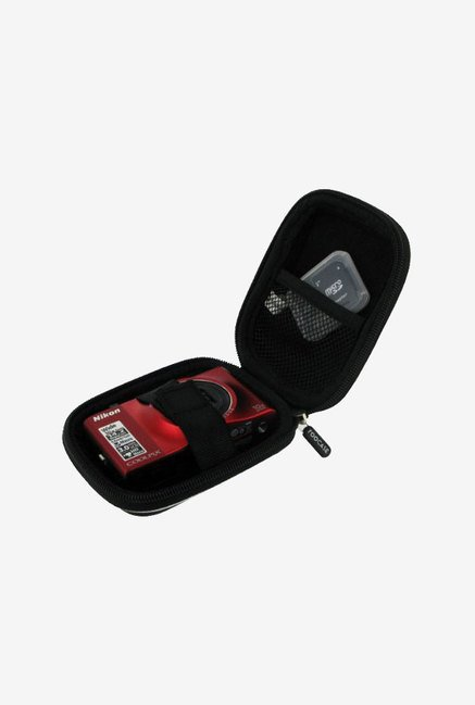 rooCASE Carrying Case for Casio Exilim EX-ZR100 (Black)