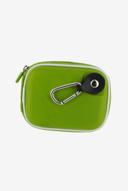 rooCASE Carrying Case For Sony Cybershot DSC-T99 (Green)