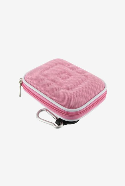 rooCASE Nylon Camera Case for Olympus Stylus 8010 (Pink)