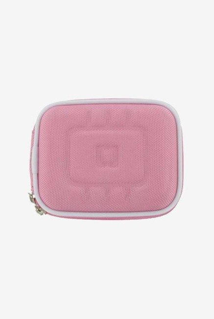 rooCASE Nylon Camera Case for Panasonic DMC-FH3 (Pink)