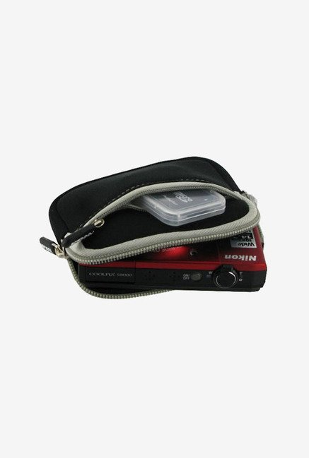 rooCASE Camera Sleeve for Panasonic Lumix DMC-ZS8 (Black)