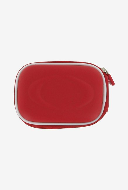 rooCASE Carrying Case For Samsung SH-100 Camera (Red)