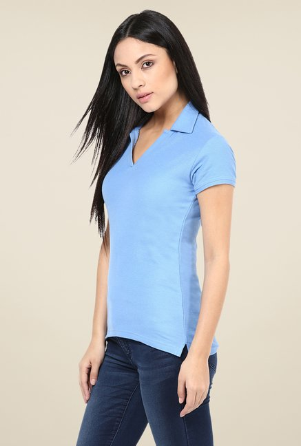 Yepme Perry Blue Polo T Shirt
