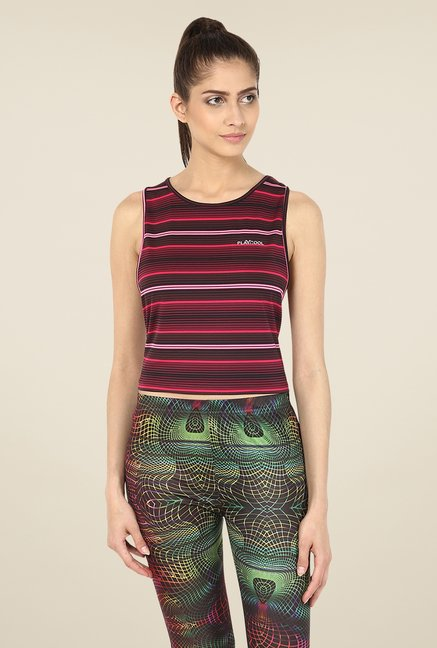Yepme Multicolored Sabrina Crop Top