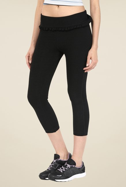 Yepme Black Gwen Yoga Trackpants