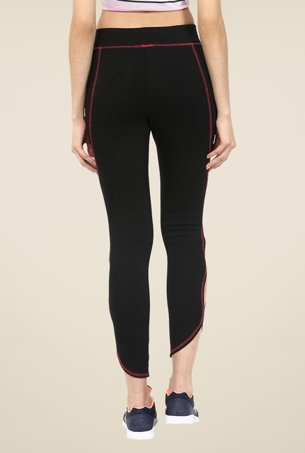 Yepme Black Olivia Yoga Trackpants