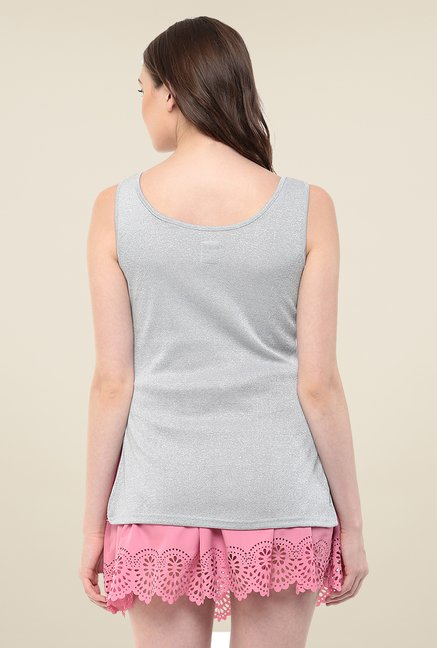 Yepme Grey Mindy Tank Top