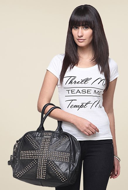 Yepme Thrill Me White T Shirt