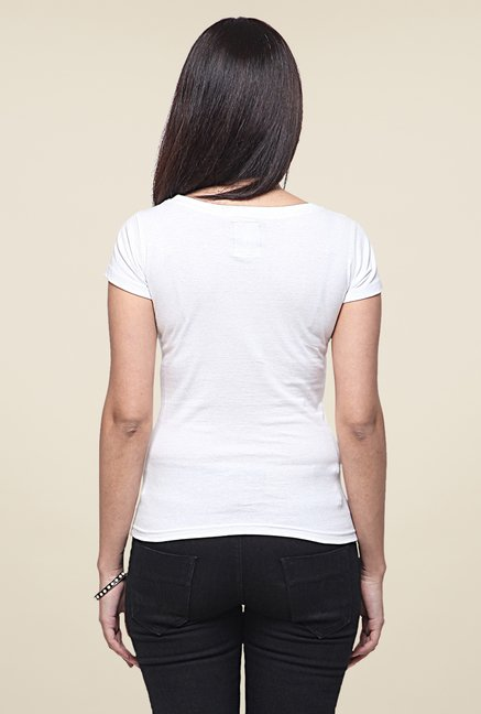 Yepme You Me White T Shirt
