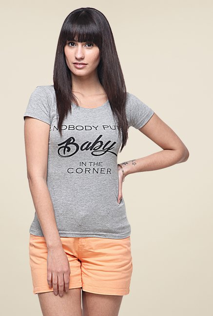 Yepme Baby Grey T Shirt