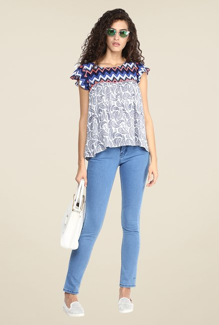 Yepme Multicolored Briana Printed Top