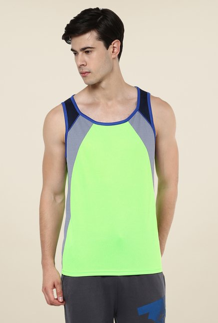Yepme Green Crosby Muscle Vest