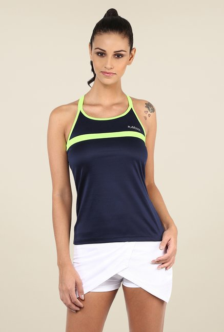 Yepme Laura Active Cami Navy T Shirt