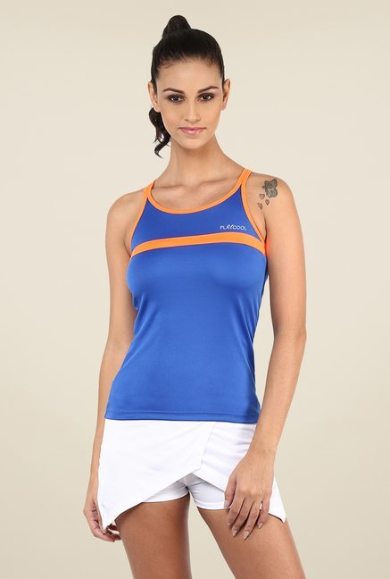 Yepme Laura Active Cami Blue T Shirt