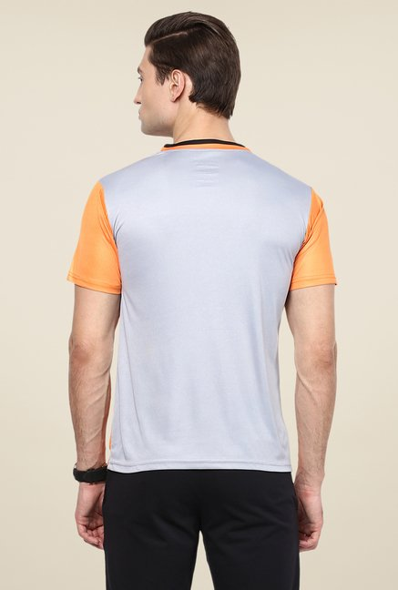Yepme Orange Eldon Printed T-shirt