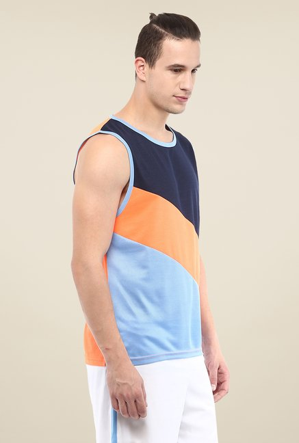 Yepme Walton Muscle Multicolor Solid T-shirt